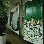 太田麻里作品の展示風景(パフォーマンス前)